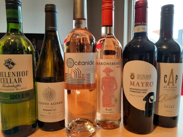 Corona overlevingspakket 6 flessen wijn