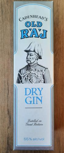 Cadenheads Old Raj Navy Strenght Dry Gin