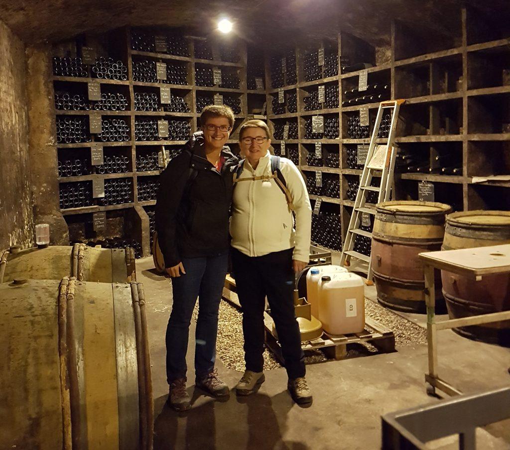 Wijnen Coopman - Mieke Coopman en Martine Tant - Wijnkelder
