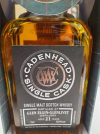 Cadenhead Glen Elgin-Glenlivet 21 year